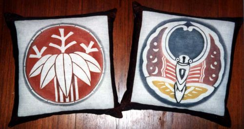Bamboo and Butterfly Pillows.jpg