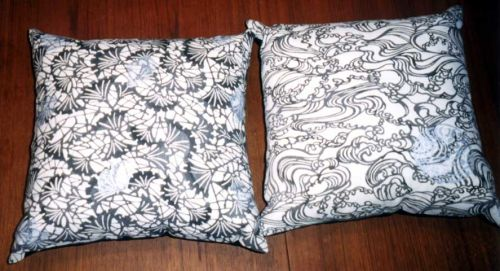 Ginkgo and Wave Pillows.jpg