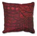 Red Lines and Spaces Pillow.jpg